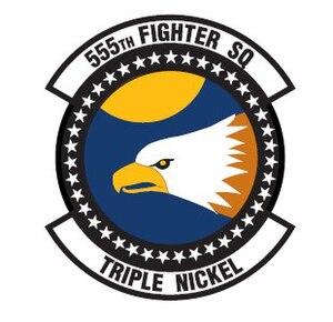 555th Fighter Squadron - Image: 555th ftr sq emblem
