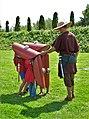 5 Schildpadformatie Romeinse soldaattraining Baroen IMG 0832 fotoMvdOord.jpg