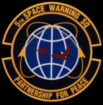 5th Space Warning Squadron - Space Squadron emblem