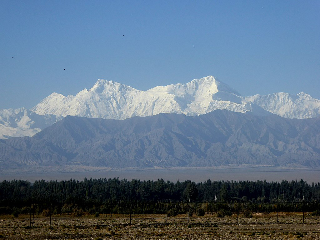 pamir mountains - fourth of the highest mountain ranges