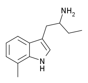 7-Methyl-α-ethyltryptamine - Image: 7 Methyl AET
