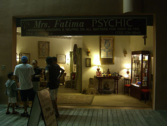 Fortune-telling - A fortune-telling storefront on the boardwalk in Point Pleasant Beach, New Jersey.