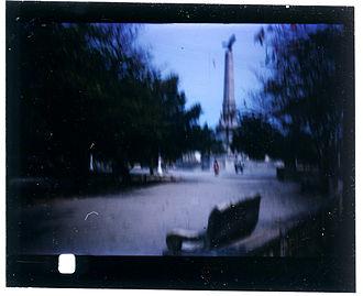 828 film - Example frame of 828 format Kodachrome slide film