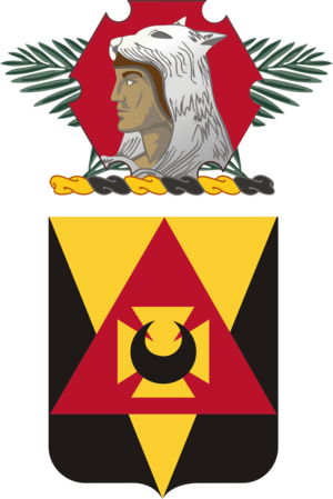 87th Combat Sustainment Support Battalion (United States) - Coat of arms