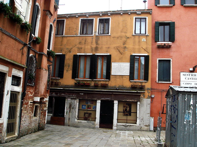 Bestand 9218 venezia casa di ugo foscolo in campo de for Casa di 750 m