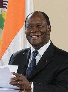 Alassane Ouattara President of the Ivory Coast (2010–present)
