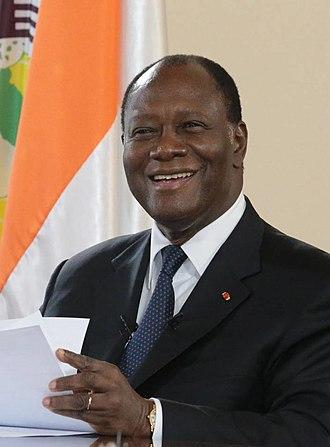 Alassane Ouattara - Alassane Ouattara in 2017