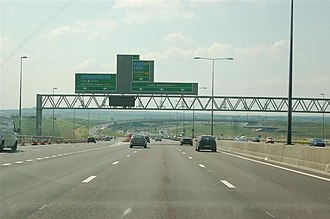 A2 road (Great Britain) - Image: A2M25A282