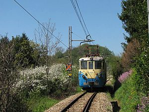 AMT Genova - Train on the Genova–Casella railway