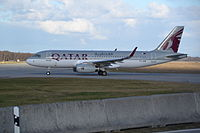 A7-AHW - A320 - Qatar Airways