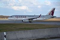 A7-AHW - A320 - Qatar Airways