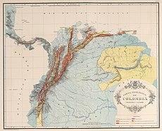 AGHRC (1890) - Carta XVII - Geología de Colombia, Venezuela y Ecuador.jpg