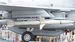 AGM-88 HARM mounted on U.S. Marine Corps EA-6B Prowler(163046) of VMAQ-2 right side view at MCAS Iwakuni May 3, 2015.jpg