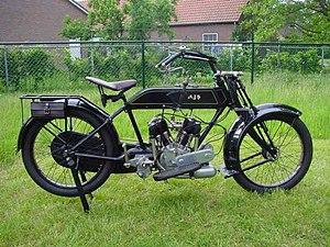 AJS Model D - Image: AJS 1920 D 1