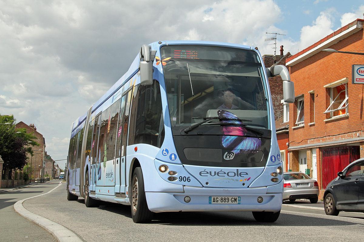 Bus haut niveau de service de douai wikip dia - Horaire bus douai ...
