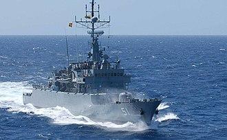 Colombian Navy - ARC Almirante Padilla (FM-51)