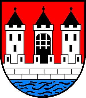 Korneuburg - Image: AUT Korneuburg COA