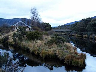 Little Thredbo River river in New South Wales, Australia