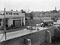 A BRITISH CHECKPOINT ON THE BORDER BETWEEN JAFFA & TEL AVIV. עמדת ביקורת של הצבא הבריטי, בגבול בין יפו לבין תל אביב.D393-028.jpg