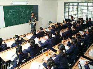Little Flower Public School - A mathematics session