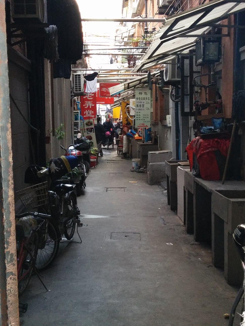A Lane in Shangxianfang