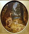 A Midsummer Night's Dream, Bottom the Weaver and Titania, by George Cruickshank, British, c. 1845, oil on fiberboard - Princeton University Art Museum - DSC07068.jpg