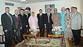 A Parliamentary delegation from Belarus called on the Vice President, Shri Bhairon Singh Shekhawat, in New Delhi on July 26, 2006.jpg
