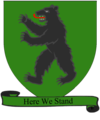 A Song of Ice and Fire arms of House Mormont green scroll.png
