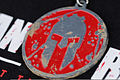 A Spartan medal sits on a table in Amesbury, Mass., Aug. 11, 2012 120811-Z-FW757-001.jpg