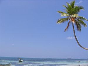 Kavaratti - Image: A beach at Kavaratti, Lakshadweep