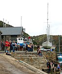 A busy day at Trinity Quay, Solva - geograph.org.uk - 1531212.jpg