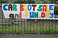 A colourful sign at Melrose road, Galashiels - geograph.org.uk - 1356161.jpg