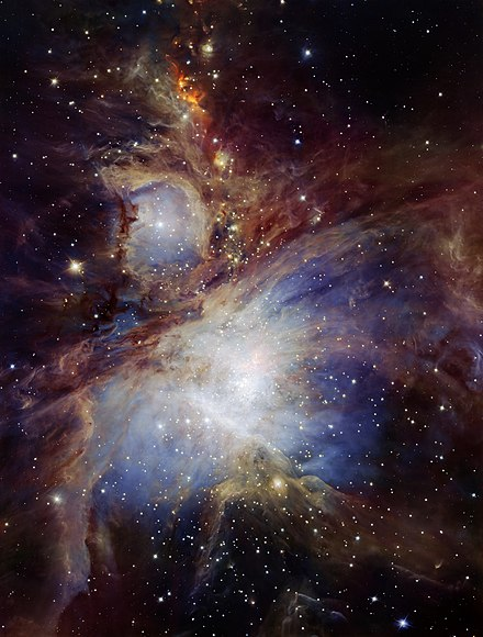 orion nebula distance from earth - 736×1329