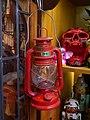 A red kerosene lamp.jpg