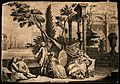 A seated woman painting the portrait of another seated woman Wellcome V0049666.jpg