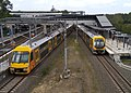 A set and M set at Liverpool railway station 20171231.jpg