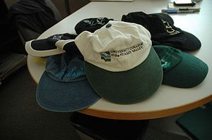 Baseball cap - A small collection of baseball caps