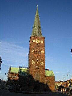 Aarhus Cathedral Church in Aarhus, Denmark