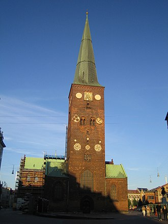 Diocese of Aarhus - The Cathedral of the diocese.