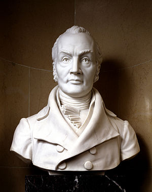Aaron Burr - Bust of Aaron Burr as Vice President