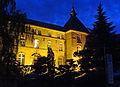 Abbaye Saint-Martin des Glandières de Longeville-lès-Saint-Avold, vue de nuit.jpg