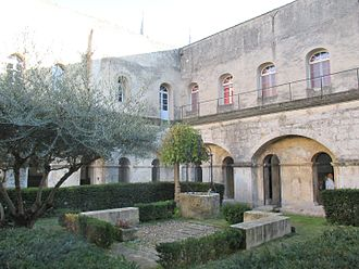 Frigolet Abbey - Cloister