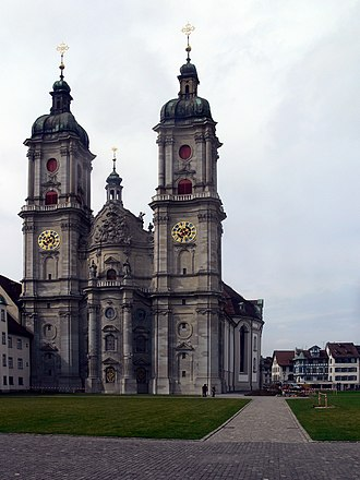 Abbey - The church of the Abbey of St Gall