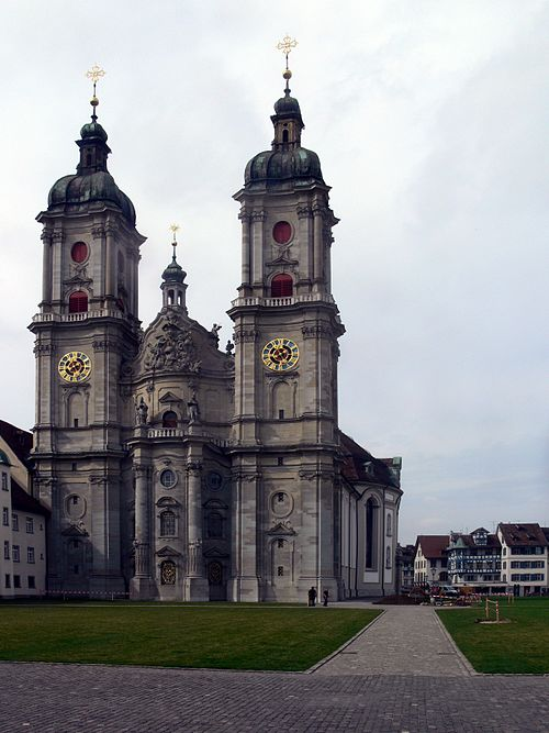 The church of the Abbey of St Gall Abbey st gall 1.jpg