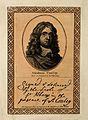 Abraham Cowley. Line engraving after Sir P. Lely. Wellcome V0001330.jpg