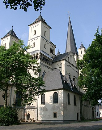 Richeza of Lotharingia - St. Nikolaus, church of the former Brauweiler Abbey.