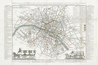 file achin plan de la ville de paris repr sentant les nouvelles voitures publiques. Black Bedroom Furniture Sets. Home Design Ideas