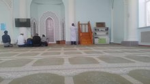 Файл:Adhan in Shalqar mosque.webm