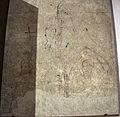 Agnolo gaddi e bottega, sinopie del tabernacolo di sant'anna a figline, 1390-95, battista e santo stefano.JPG