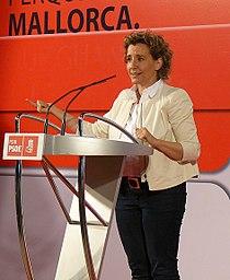 Aina Calvo en un mitin en Son Pardo (2011).jpg